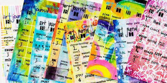 Creative art journal prompt cards kick-start my creative process ...