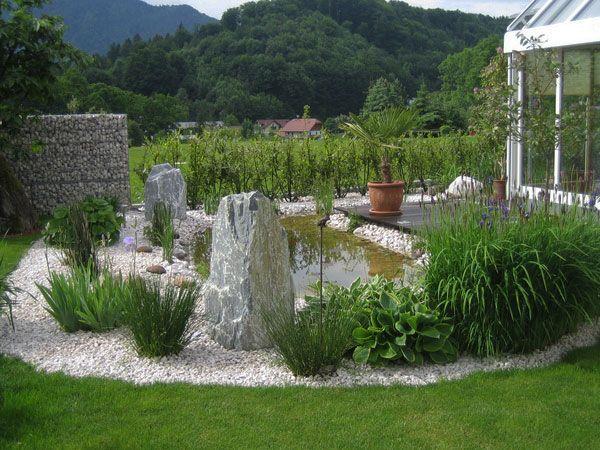 Moderner garten mit steinen  gebirge-teich-garten-kies-pflanzen-stein | Moodboard | Pinterest ...