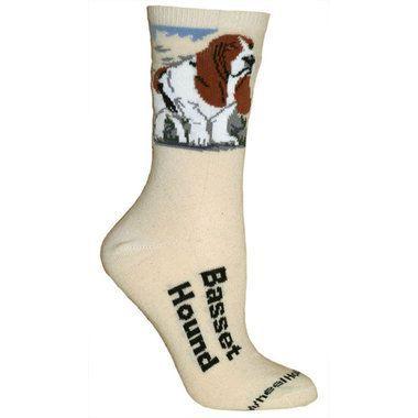Basset Hound Designer Socks