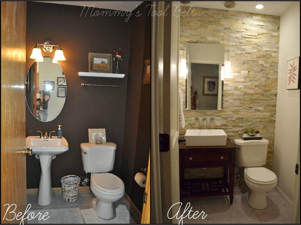 Half Bath Renovation Half Bath Remodel Small Half Baths Bath