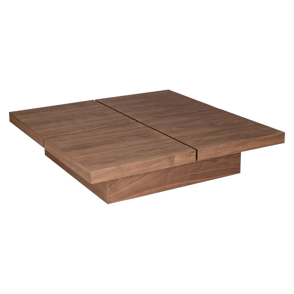 Inspired by Japanese design the four blocks of this table simply slides apart to reveal · Walnut Coffee ...  sc 1 st  Pinterest & Inspired by Japanese design the four blocks of this table simply ...