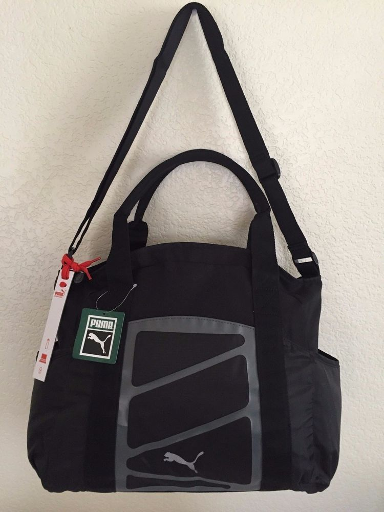 b29fc924bf PUMA Alexia Tote Black Women Bag 100% Polyester Laptop sleeve14