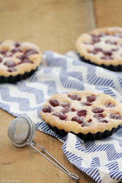 tulpentag schnelle biskuit tartelettes mit kirschen klein und fein pinterest biskuit. Black Bedroom Furniture Sets. Home Design Ideas