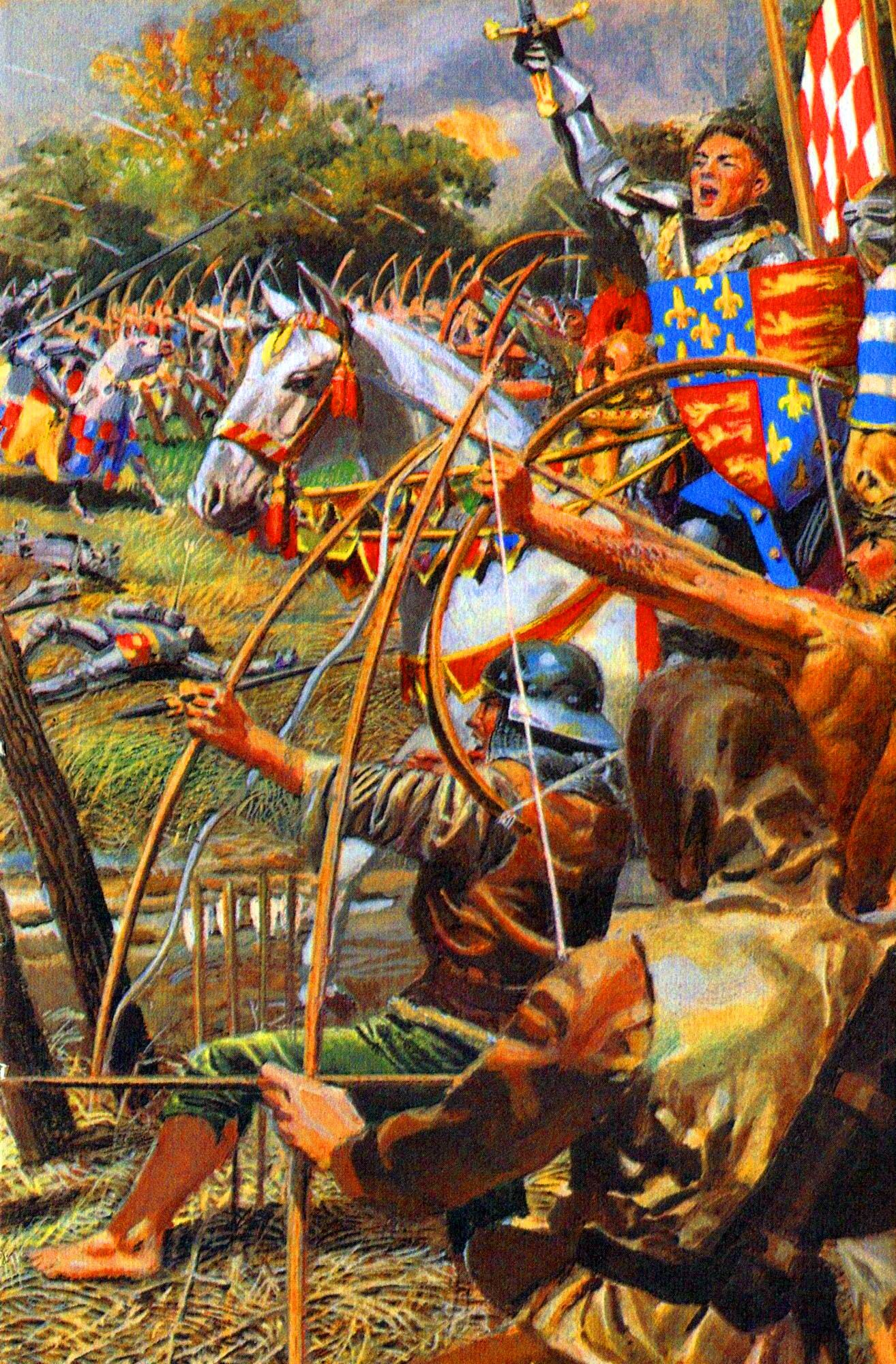 king henry v at agincourt hundred years war art king henry v at agincourt middot 100 years warhundred