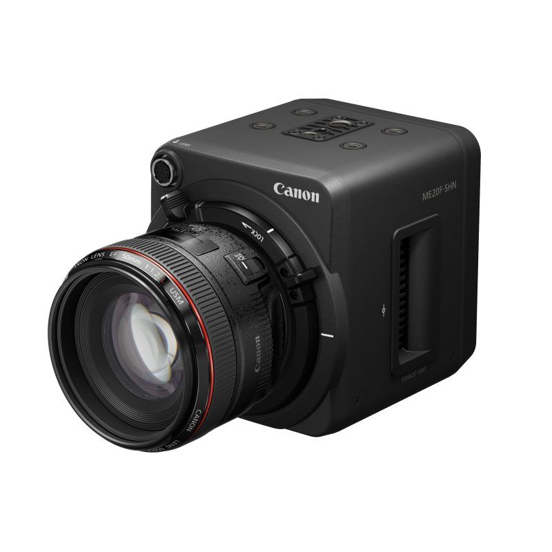 Canon ME20F-SHN is a New Full-Frame Camera with Networking ...