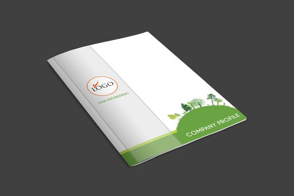 Indesign company profile template Pinterest Company profile and