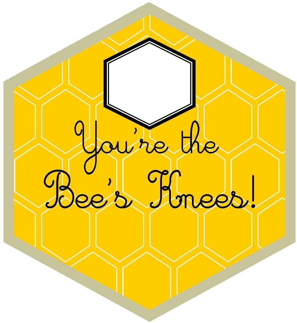 Detail-Oriented Diva!: Bee's Knees Valentine for Teacher or Anyone You Love!