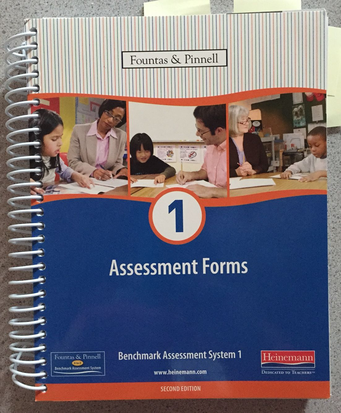 Fountas And Pinnell  Assessment Forms  Comes With Benchmarks