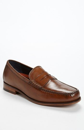 b318c3b9116 Beautiful color! Cole Haan  Hudson Square  Penny Loafer available at ...