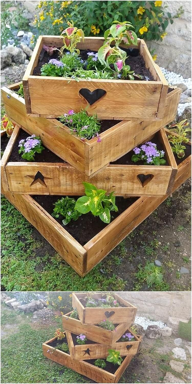 amazing diy ideas to make unique furniture with recycled on easy diy woodworking projects to decor your home kinds of wooden planters id=54282