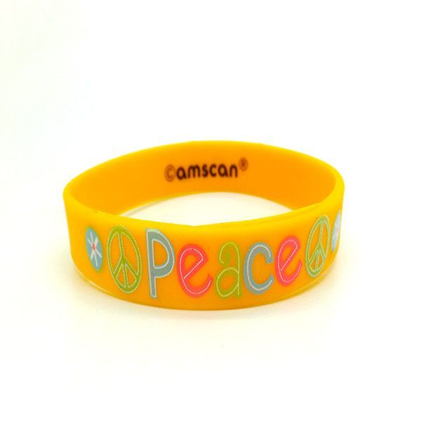 Trendy Silicone Wristband Favorable Reception Positive Bracelet Best Ingsiliconewristband