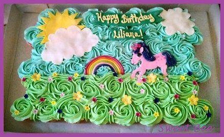 Unicorn Cupcake Cake Party Party Party Unicorn