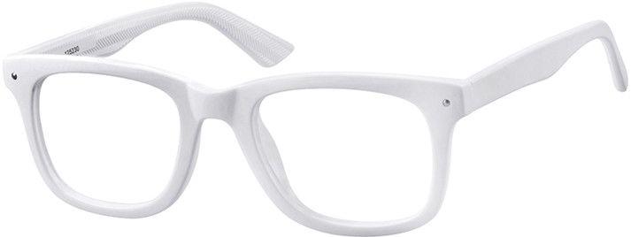 73e513aa882a White Square Glasses  125230