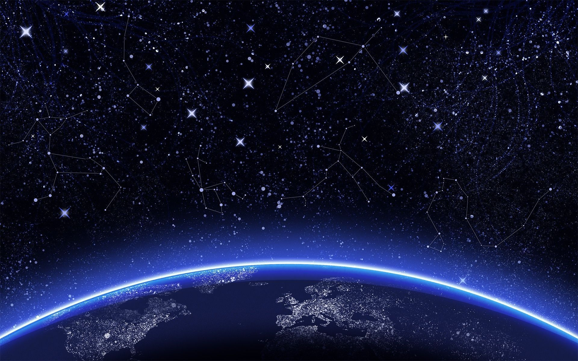 night sky stars wallpapers - wallpaper cave | epic car wallpapers