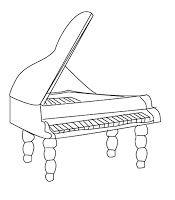 РАЗВИТИЕ РЕБЕНКА: Раскраска Музыкальные Инструменты ...