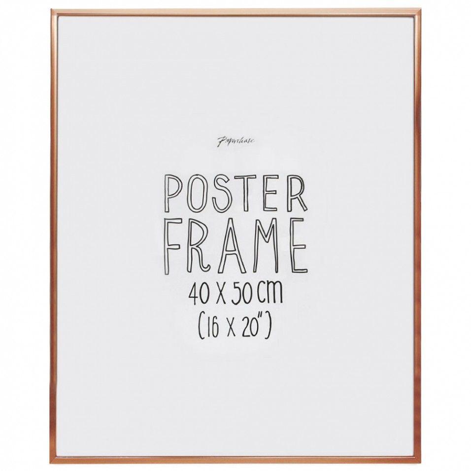 Aluminium copper poster frame 16x20 | Appartment ideas | Pinterest
