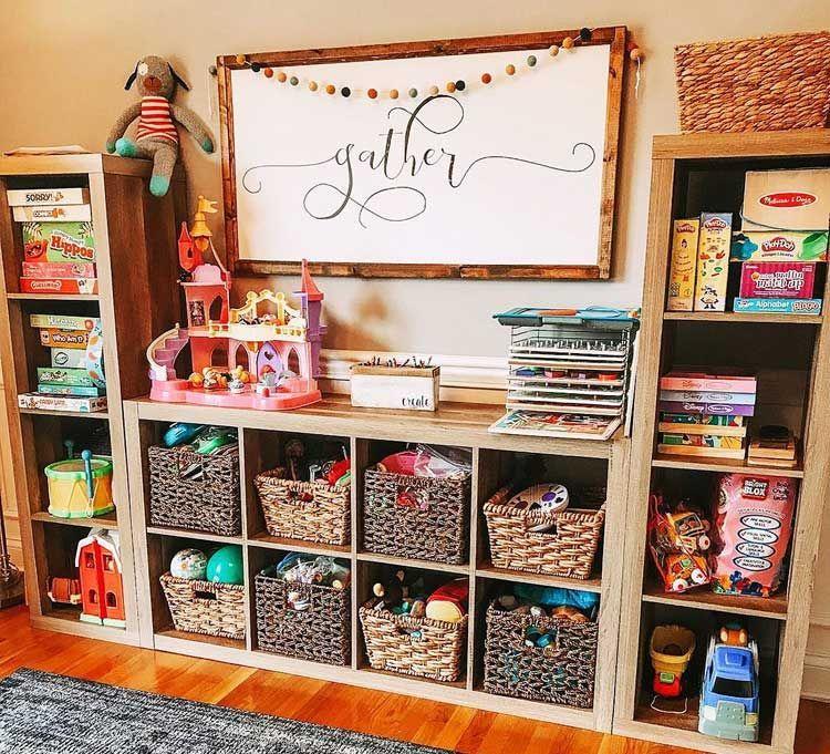 79 Best Toy Storage Ideas For Kids Room Organization 2020 Toy Room Organization Kids Room Organization Playroom Design