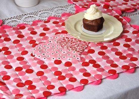 DIY Placemats : DIY Valentine Placemats | DIY Placemats ...
