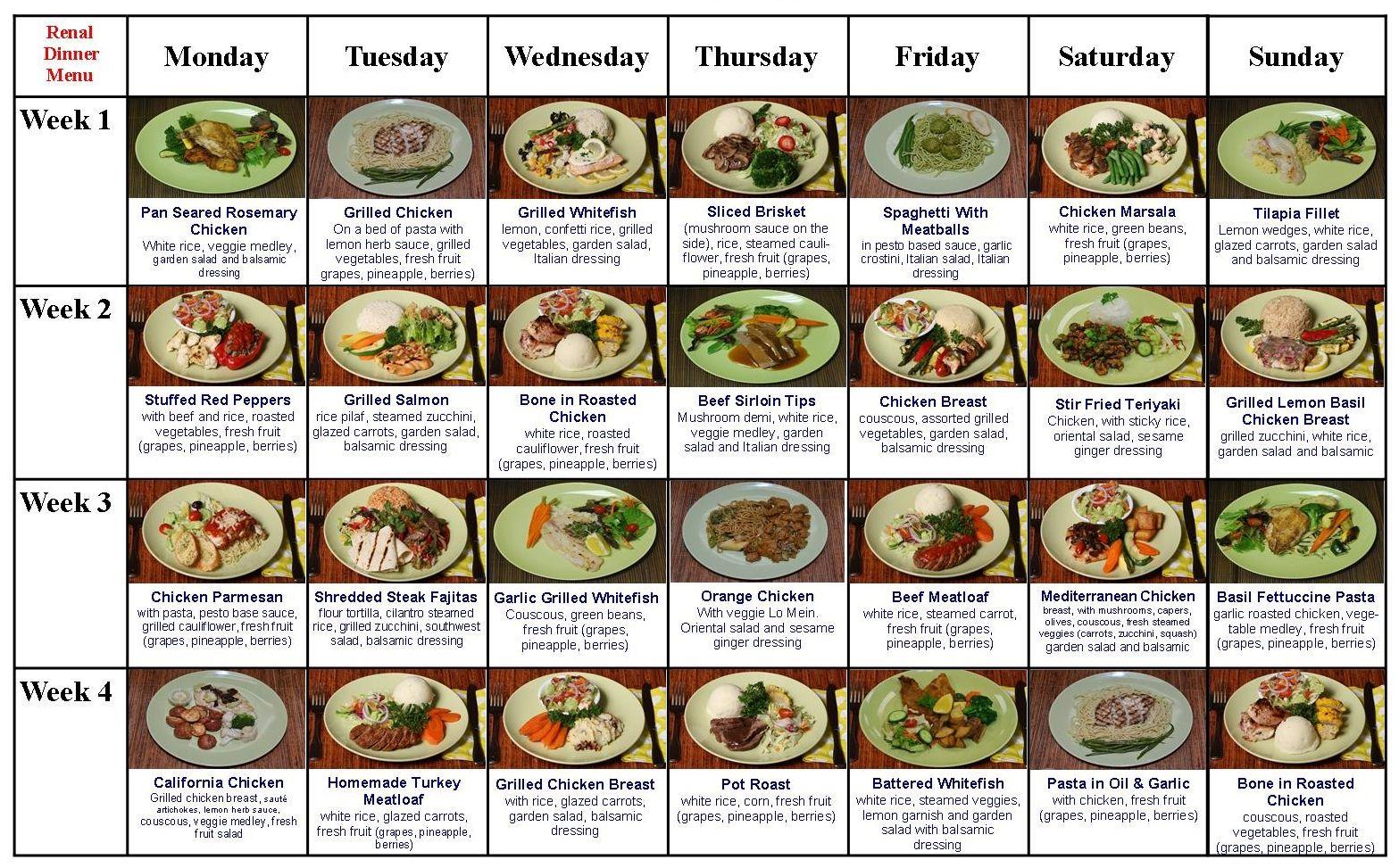 The Renal Diet Menu Restricted Diet Never Tasted So Good Renal Diet Foods Renal Diet Low Potassium Diet Renal Diet Recipes Low Potassium Diet Renal Diet