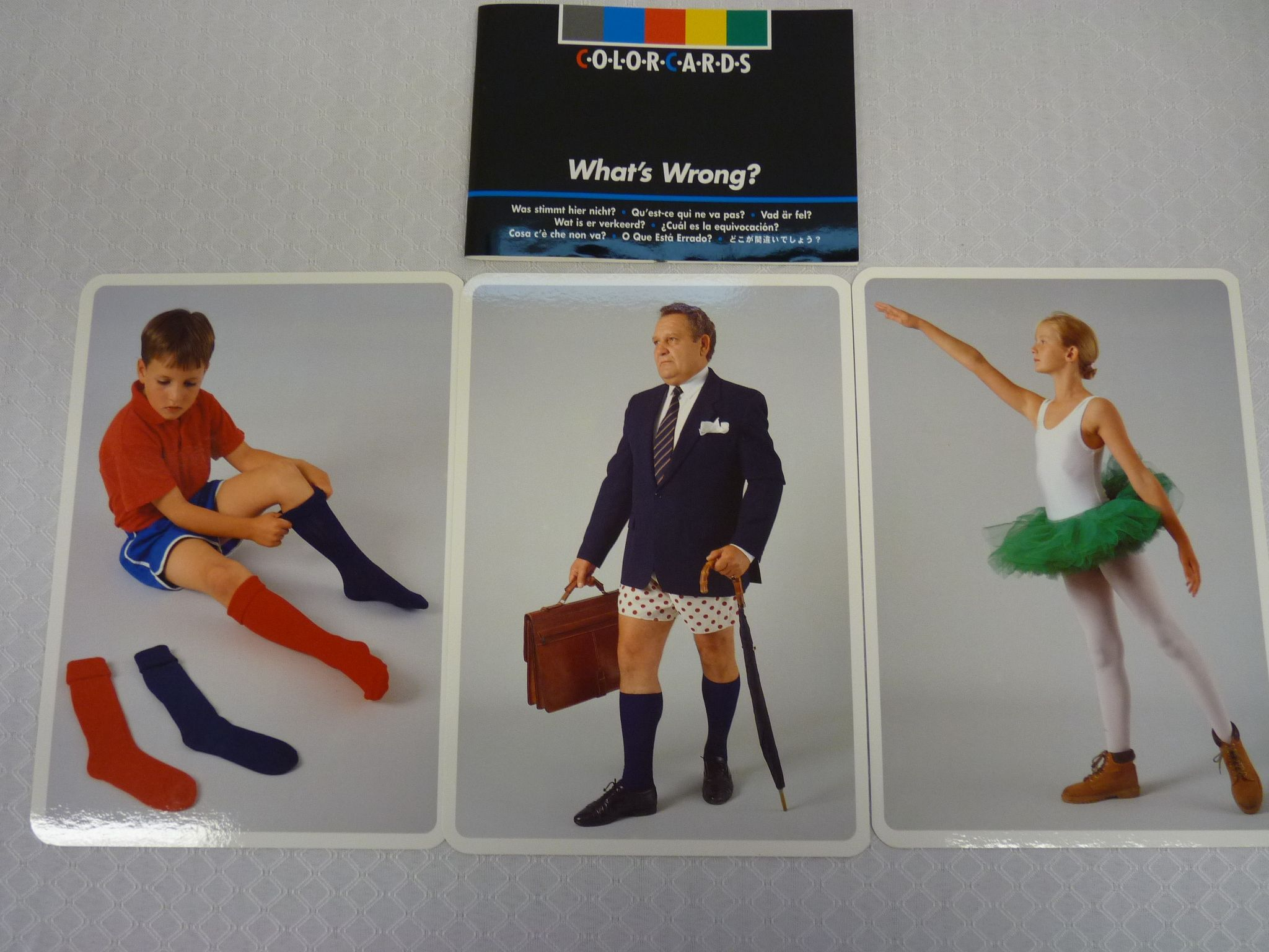 titre  colorcards   what u0026 39 s wrong  cote  jeu 3107 comprend 48 cartes