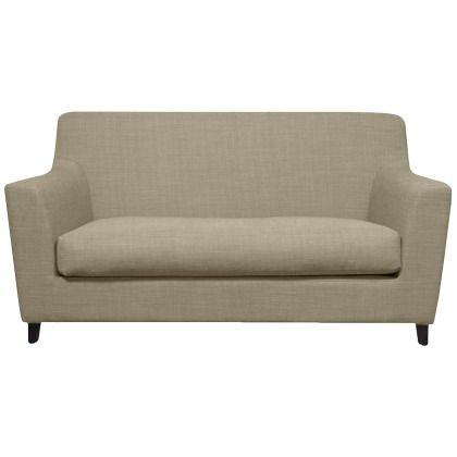 Cooles beiges #Sofa von FASHION FOR HOME. Mit diesem Teil lässt Du das #Retrofieber wieder aufleben! ♥ ab 489,00 €