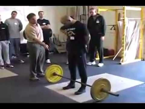 A Short Instructional Video On Proper Deadlift Form By The Famous