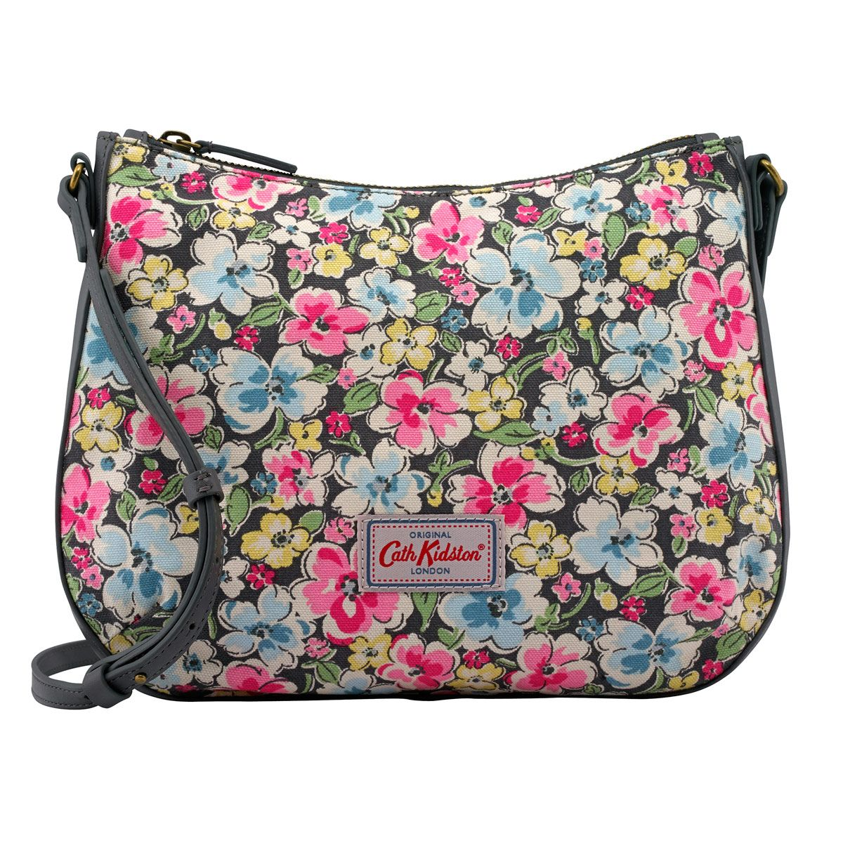 Orchard Blossom Canvas & Leather Cross Body Bag | New In Bags | CathKidston