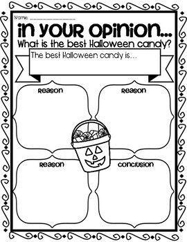 Opinion writing candy #opinion #writing #candy