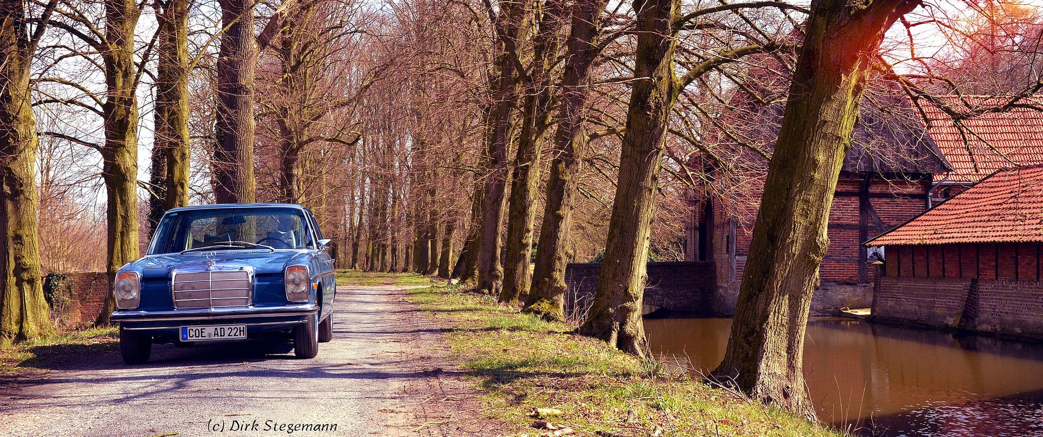 Mit dem Strich8 zum Haus Runde | Mercedes benz