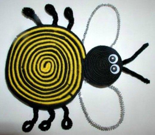 48 Beautiful And Creative Bee Craft Ideas Craft Sticks And