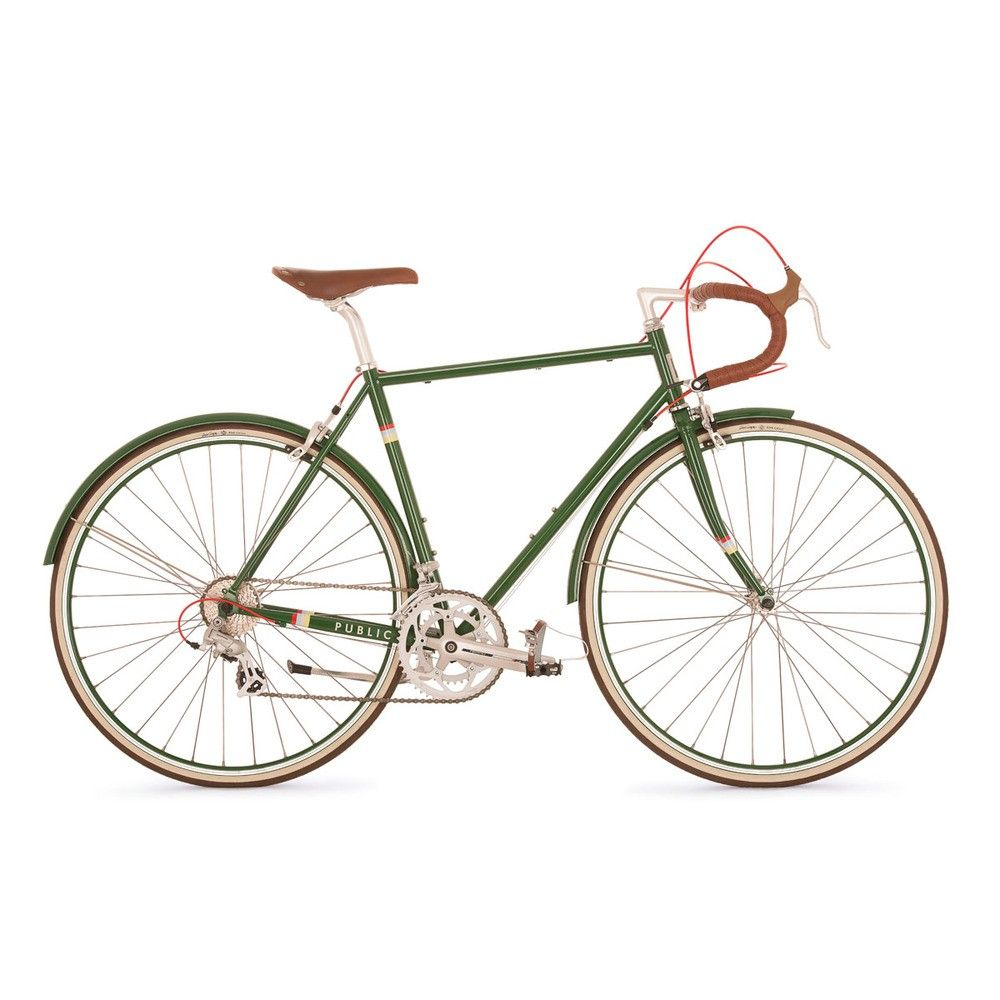 Public R16 Bike Bicycle Urban Bike Green Bicycle