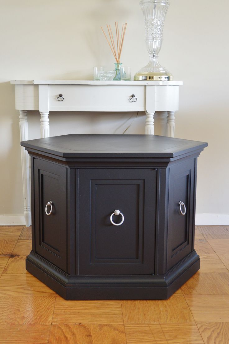 Best Black Updated Octagon End Table Google Search Drawing 400 x 300