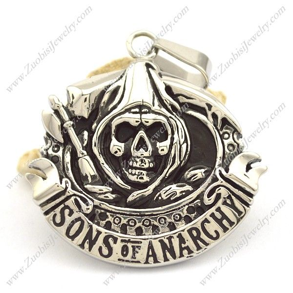 p002100  Item No. : p002100 Market Price : US$ 33.00 Sales Price : US$ 3.30 Category : Biker Pendants