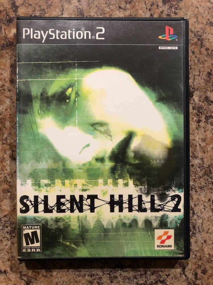 Silent Hill Sony 2 Playstation 2 Ps2 Complete Tested Black Label Silent Hill 2 Silent Hill Silent Hill 2 Ps2