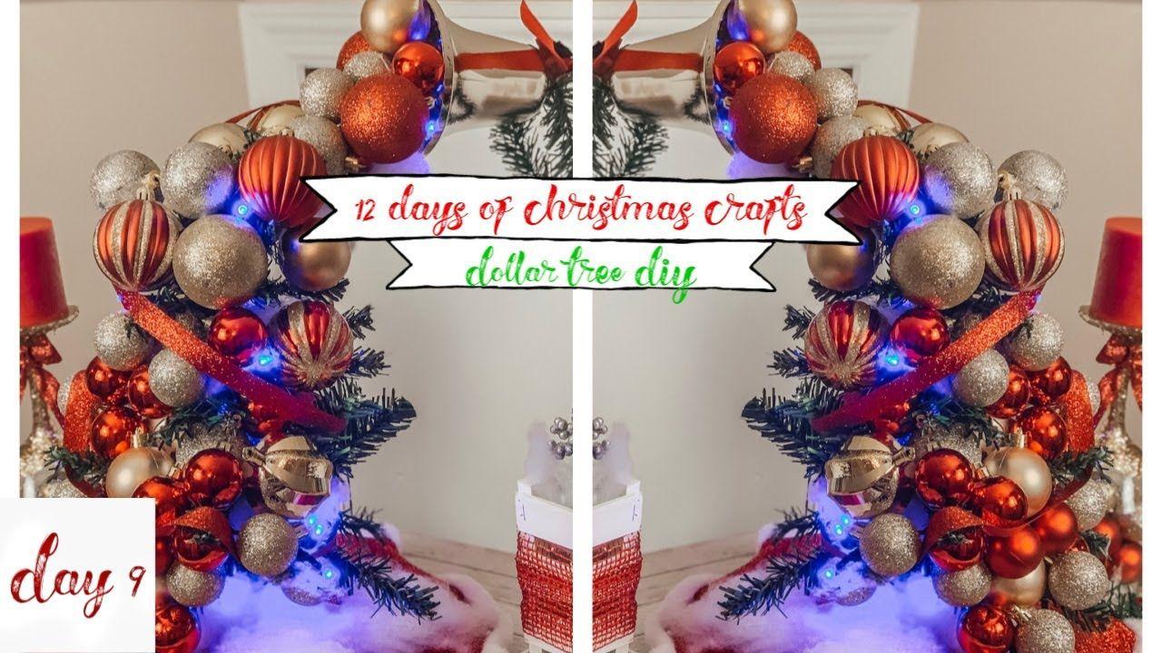 Dollar Tree Diy Floating Ornament Centerpiece Youtube Floating Ornaments Diy Christmas Decorations Easy Dollar Store Christmas