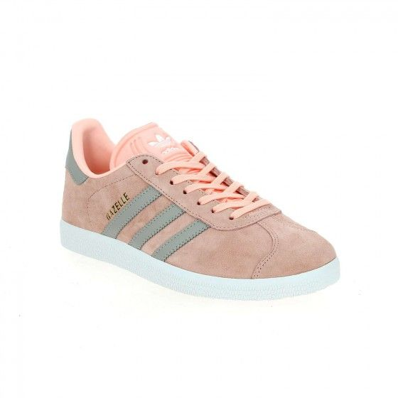 gazelle adidas rose et orange