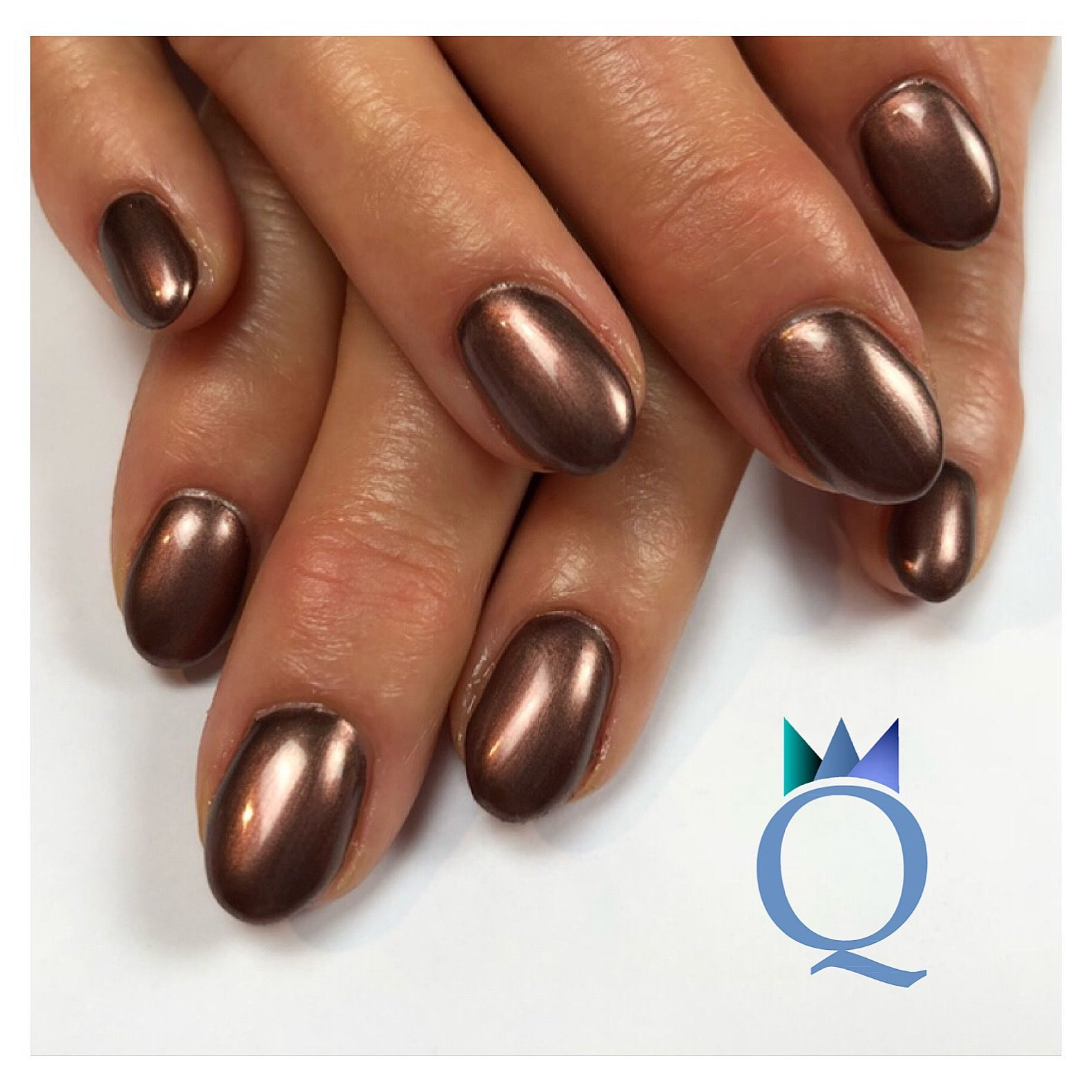 shortnails #gelnails #nails #brown #kurzenägel #gelnägel #nägel ...