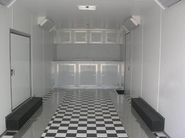 Enclosed Trailer Flooring Home Decor Party Ideas Interior Exterior Design Race Time