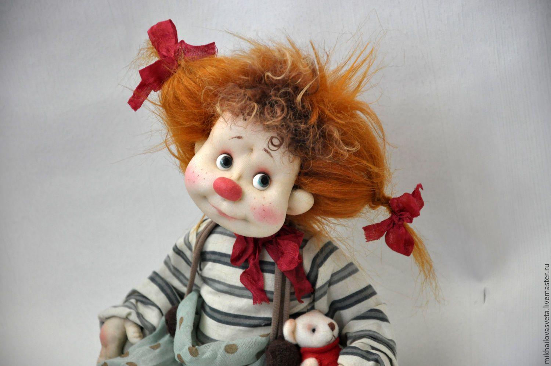 отличие опят, авторские куклы клоуны фото вашему