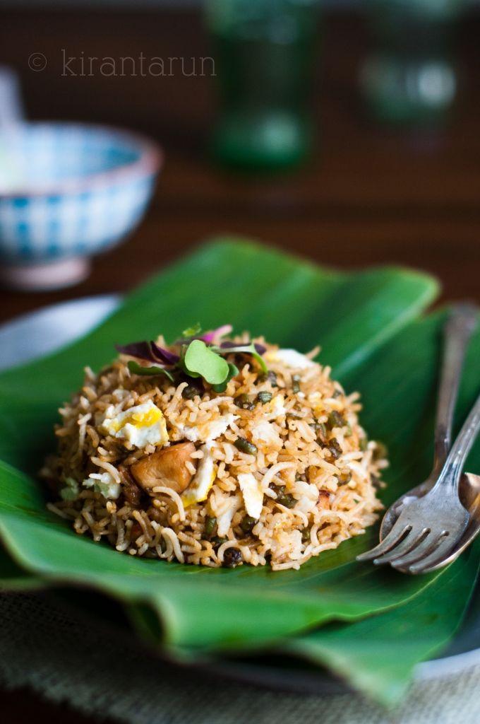 Marinated Teriyaki Chicken Fried Rice