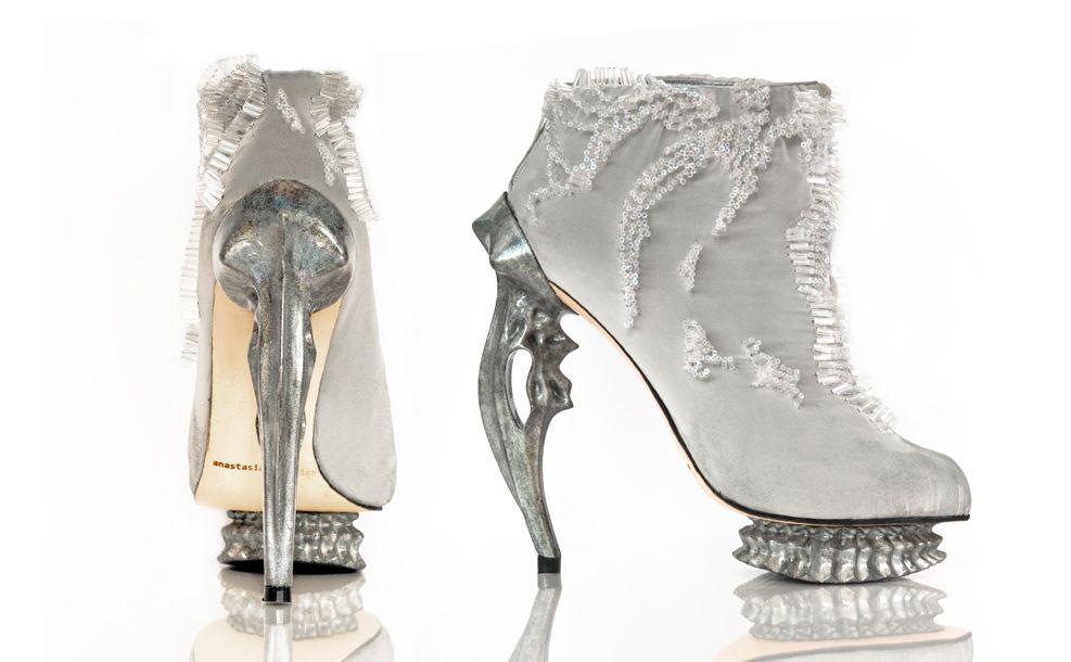 Anastasia Radevich under the sea shoes Zapatos #tendencia Lichen Luxe - Líquenes de lujo #coolhunting