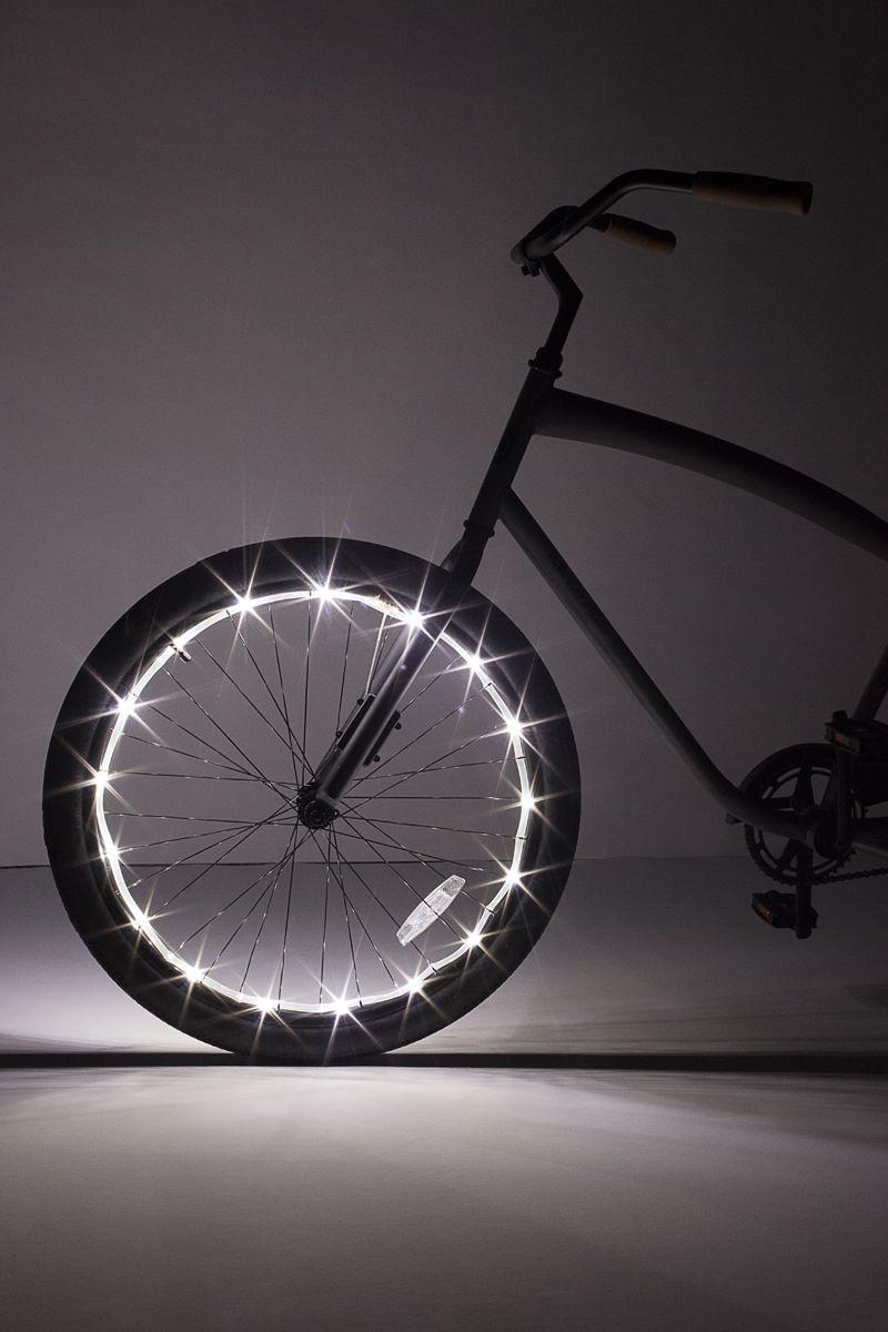 Wheel Brightz White Bicycle Light Brightz, Ltd. Top