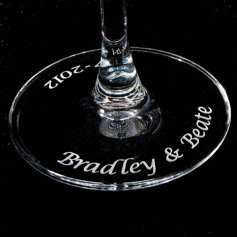 Irish Wedding Gift Ideas: Personalized Celtic Knot Champagne Flutes, Irish Wedding