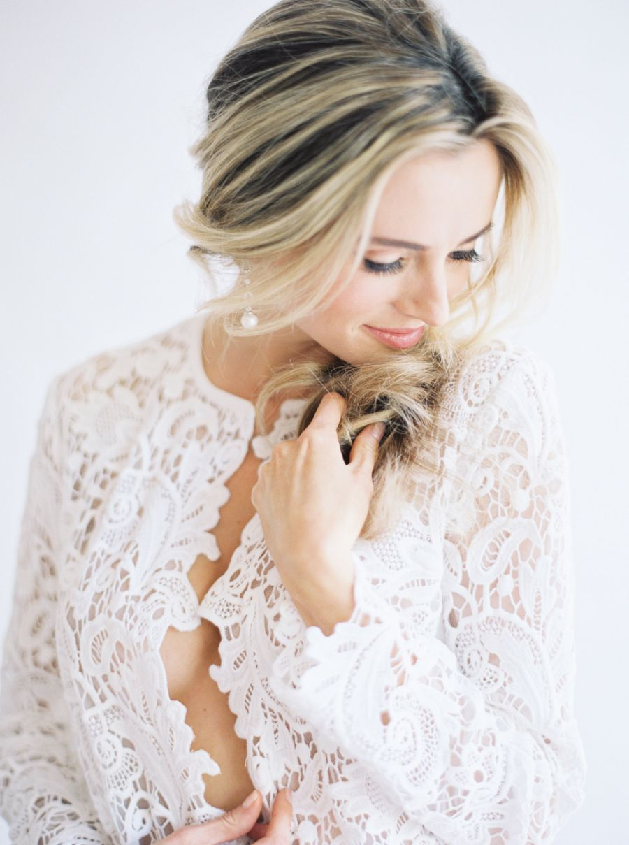 Photography: Lucy Cuneo Photography - http://www.stylemepretty.com/portfolio/lucy-cuneo-photography   Read More on SMP: http://www.stylemepretty.com/2015/06/15/soft-romantic-boudoir-session-inspiration/