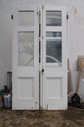 Victorian French / Patio Double Doors. Hardwood Glazed External Double Doors