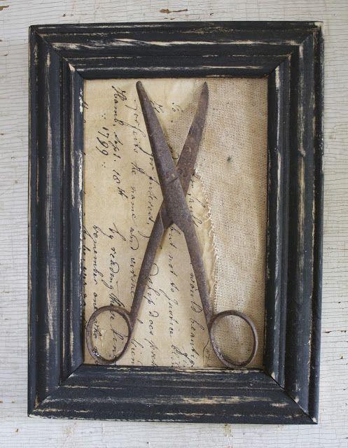 Frame Ita Fine Farmhouse Idea For Anything Old Grandmas Spoons