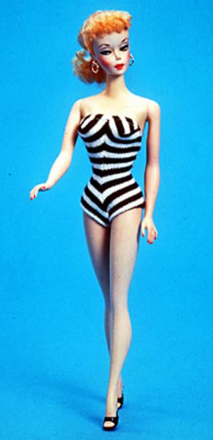 1959 First Barbie Doll image by GazelleGStan - Photobucket