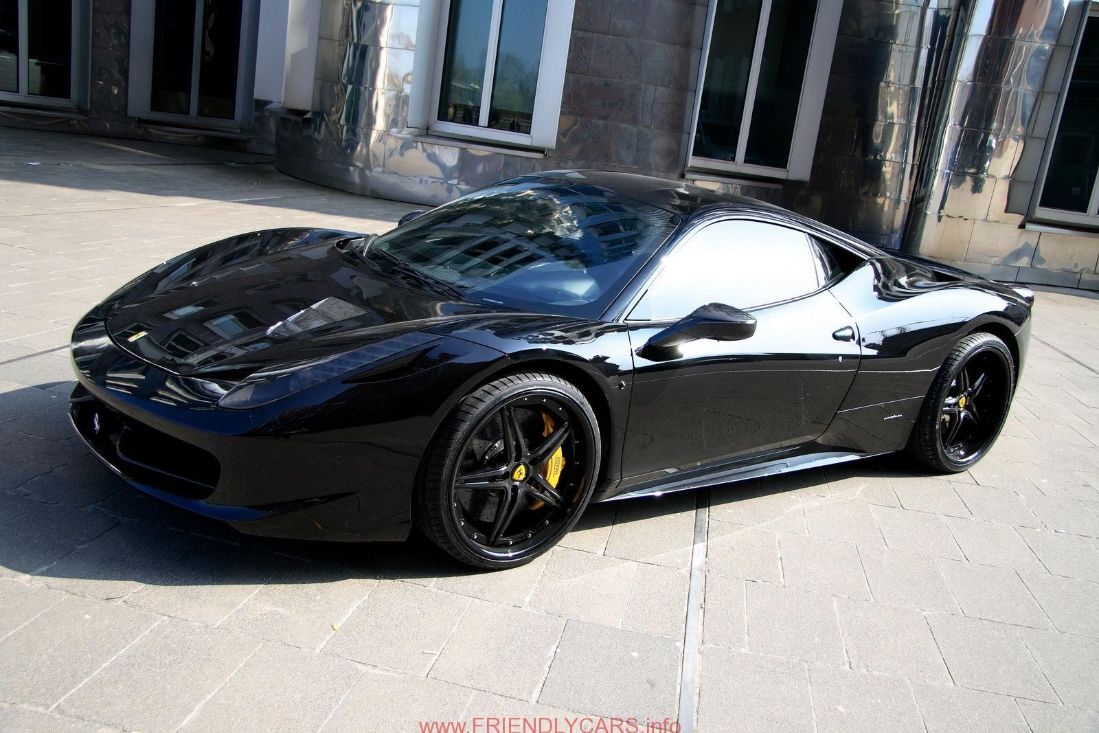 Awesome Ferrari 458 Spider Matte Black Car Images Hd Wallpaper 2 Wallchips
