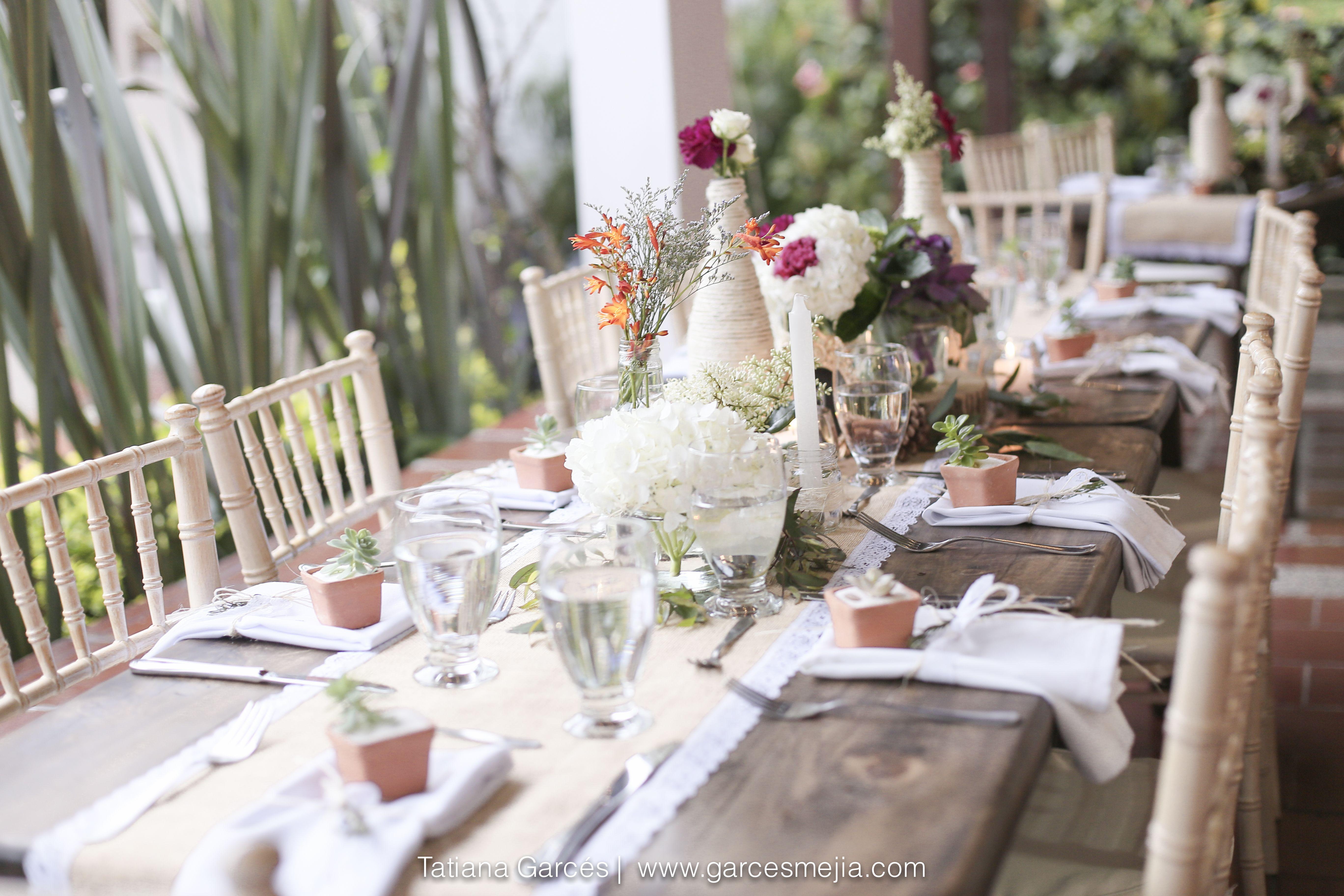 Decoraci n para bodas campestres decoraci n hermosa para for Ideas de decoracion para bodas