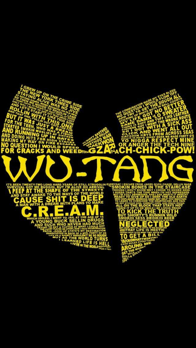 C.R.E.A.M. Wu Tang Clan Wu tang clan, Wu tang, Wu tang